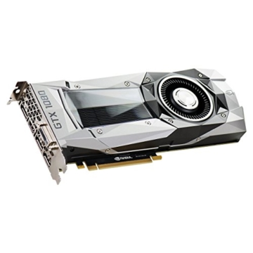 EVGA GeForce GTX 1080 08G-P4-6180-KR 8GB Founders Edition PCI-Express-Grafikkarte mehrfarbig -