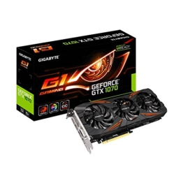 GIGABYTE GeForce GTX 1070 Gaming 8GB GDDR5 256bit -