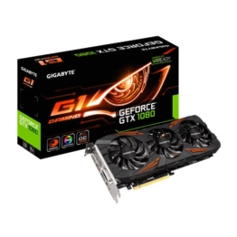 Gigabyte GeForce GTX 1080 Gaming 8GB GDDR5X RTL 256 bit PCI-E 3.0 x16 Dual-link DVI-Dx1 HDMI-2.0bx1 Display Port-1.4x3 -