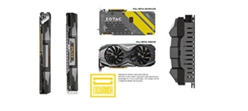 ZOTAC GeForce GTX 1080 8GB AMP! Edition with GeForce Experience -